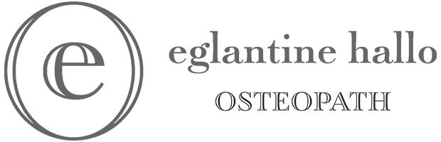 Eglantine Hallo Osteopath Logo
